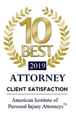 2019 10 Best Client Satisfaction Badge