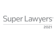 Super Lawyers Badge 2021